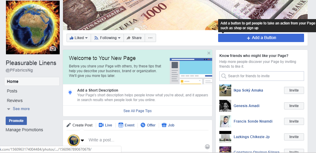How To Create A Facebook page Using Your Personal Account